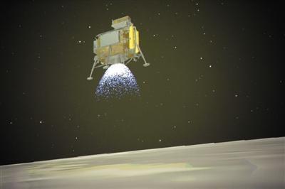 嫦娥四号登陆月背,这个缓冲拉杆很重要