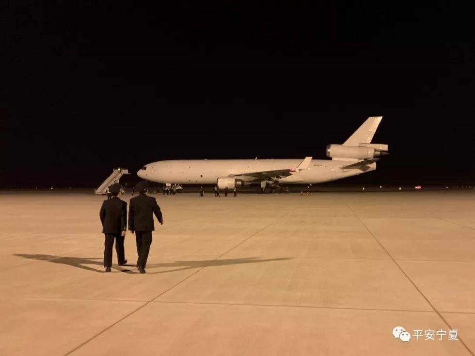 科威特飞韩国货机2日晚备降银川:输油管漏油,飞机正维修