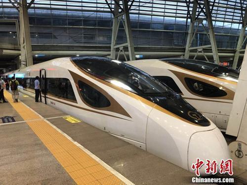 """全国铁路今起调图:超长版""""复兴号""""上线运营"""