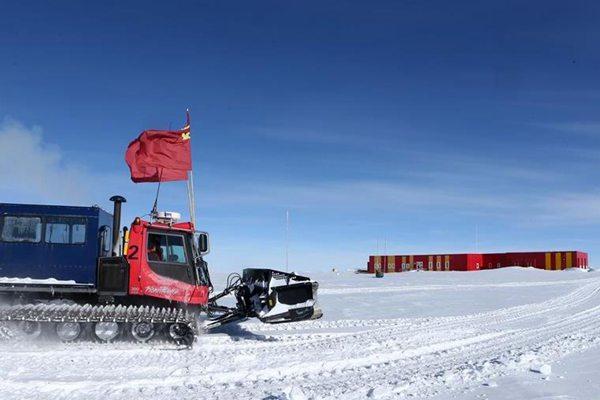 中国科考队16名队员顺利抵达南极昆仑站