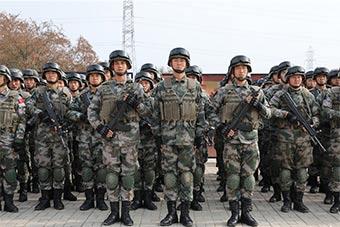 中巴两国陆军在巴境内开展联合反恐作战演练