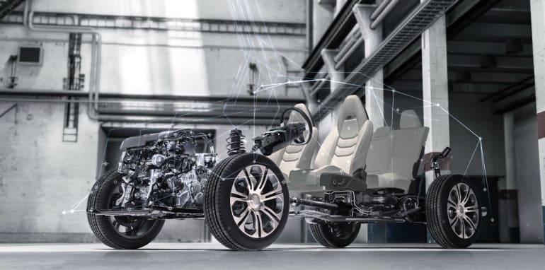 基于沃尔沃平台 吉利发布FY11轿跑SUV官图