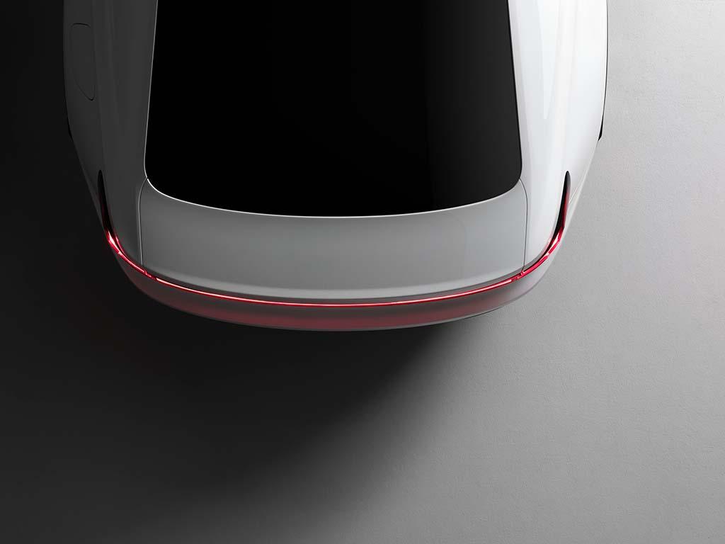 剑指特斯拉Model 3 Polestar 2预告图首发
