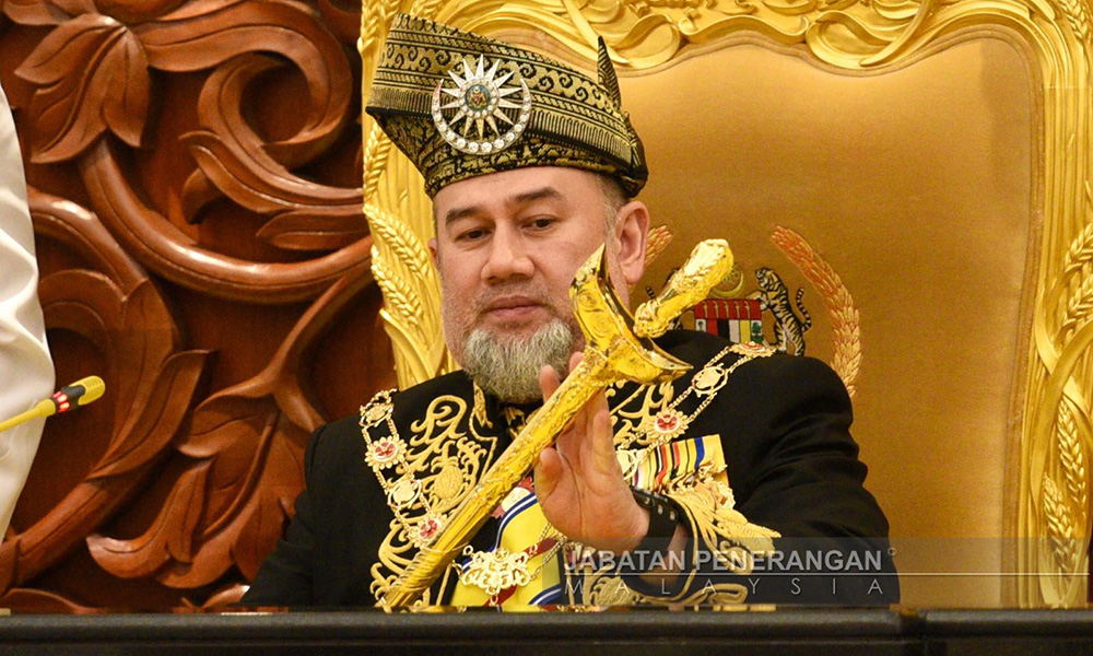 马来西亚国王穆罕默德五世放弃王位