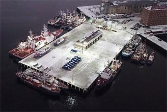 俄罗斯在北冰洋港口设置边防巡逻队基地