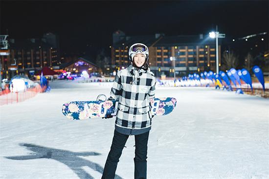王珞丹现身冬奥学院 携世界冠军助力冬奥会