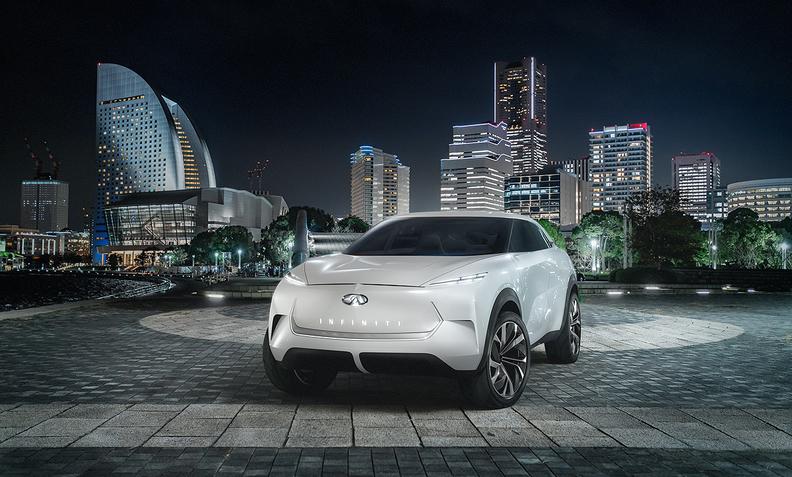 英菲尼迪电动跨界概念车将亮相底特律车展