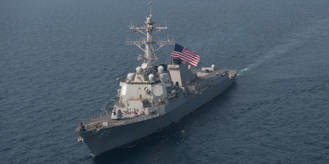 详讯!美军舰今天闯西沙挑衅,进入我岛礁12海里