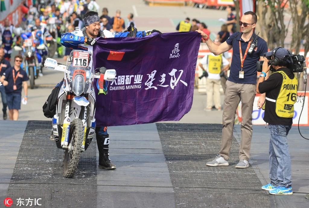 2019达喀尔拉力赛:中国车手赵宏毅、张敏出战摩托车组赛事
