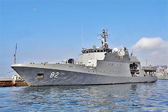 智利展示最新近海巡逻艇 南美3国都想要