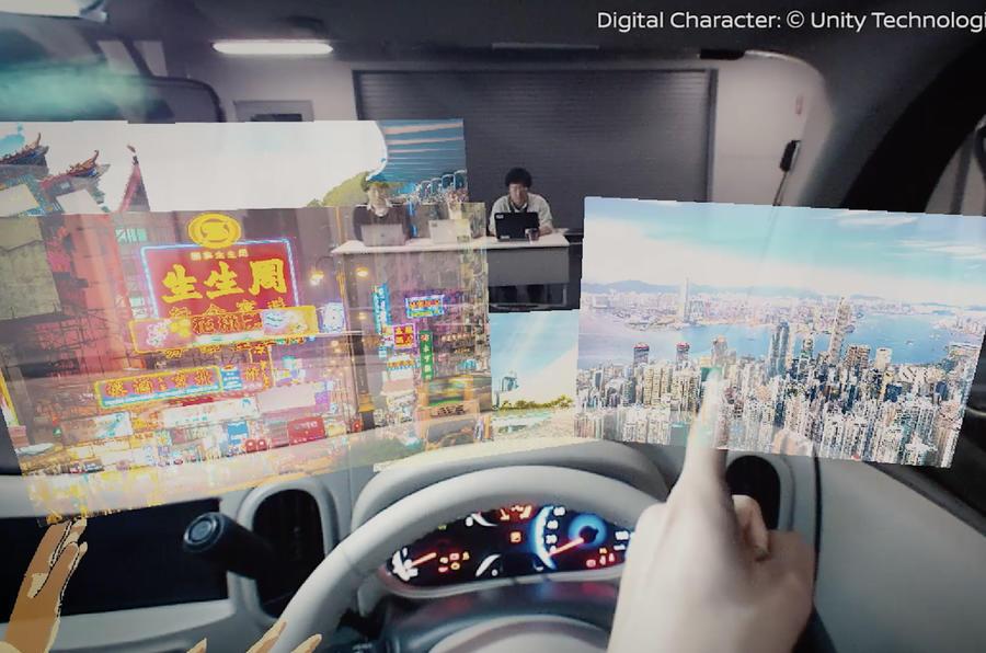 日产最新I2V技术将亮相CES 驾驶者视野无死角