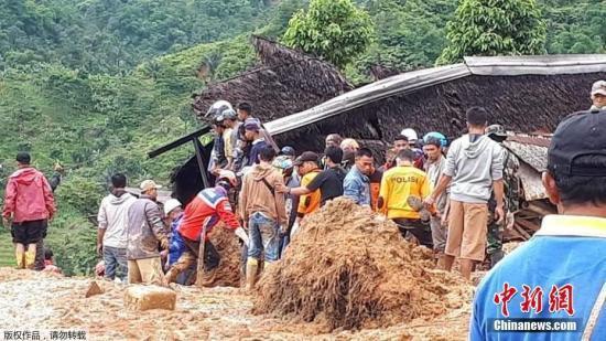 bob在线:印尼山体滑坡事故搜救结束:32人遇难 1人仍失踪