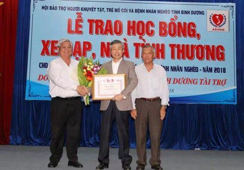 敏华控股向越南平阳省捐款30万美元,引起广泛影响