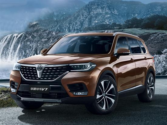 华晨大SUV上市 搭宝马1.8T-动力超2.0T引擎