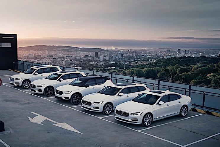 沃尔沃2018年汽车销量超60万破纪录 XC60最畅销