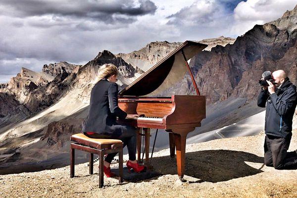 最高海拔的演唱会!一励志钢琴家破世界纪录