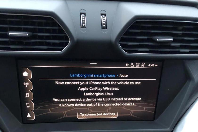 海外车主吐槽兰博基尼 Urus SUV软件漏洞
