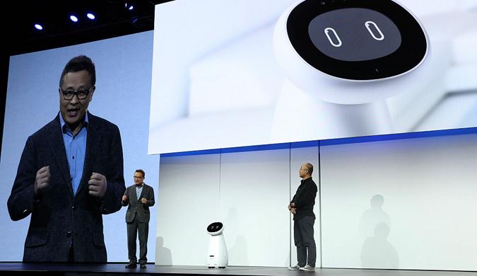 CES 2019即将开幕 三星推出健康关爱机器人