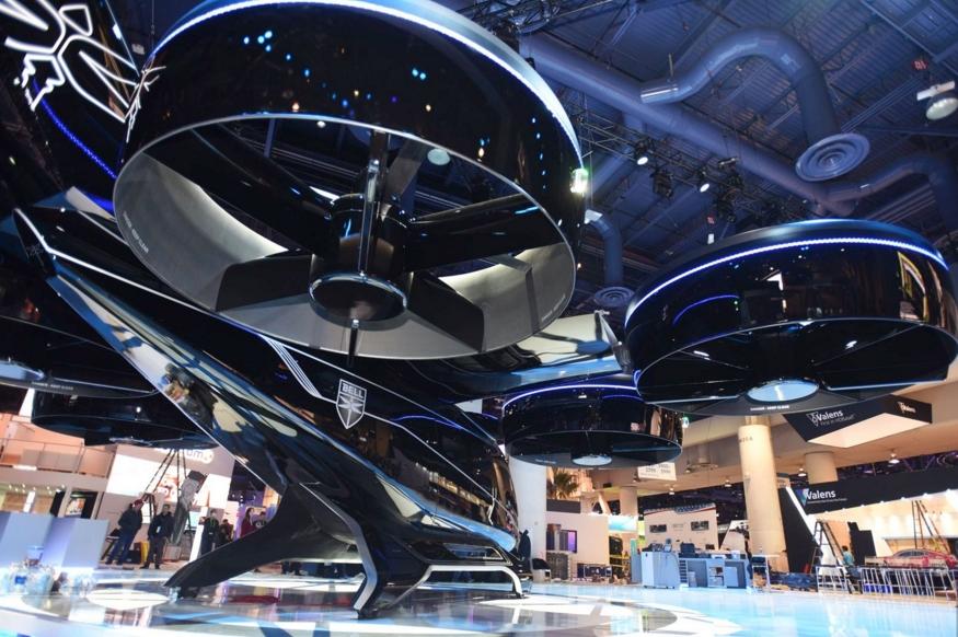 CES2019:优步合作伙伴展示其空中出租车升级版