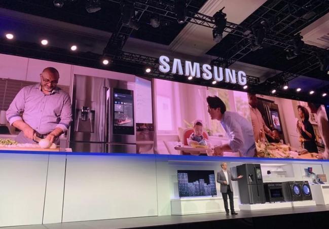 CES 2019:三星新版Family Hub智能冰箱将更具互动性