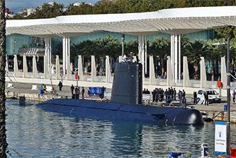 西班牙海军常规潜艇出海 此前完成大修不久