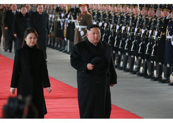 韩媒关注金正恩访华 韩外交部:望金正恩访华为半岛和平做贡献