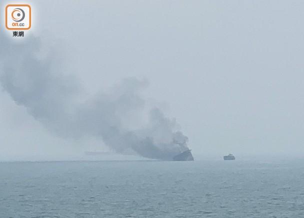 香港南丫岛发生货船爆炸起火事件,至少1人死亡有船员失踪
