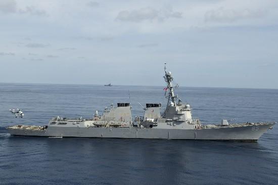 美媒:美舰进入西沙群岛附近中方:海空兵力警告驱离
