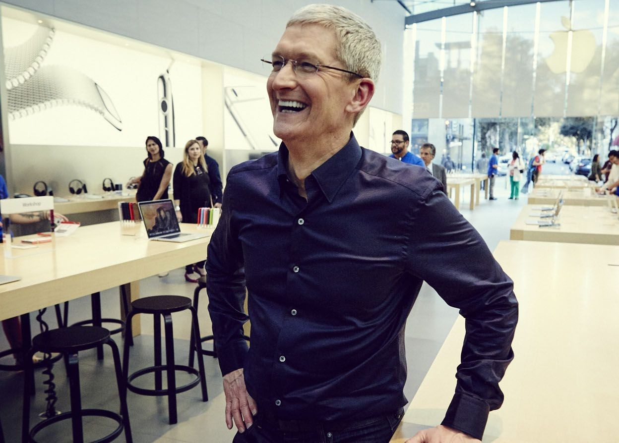 库克发言:苹果被严重低估 生态环境业界领先