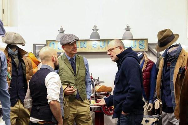 时尚男装亮相意大利佛罗伦萨