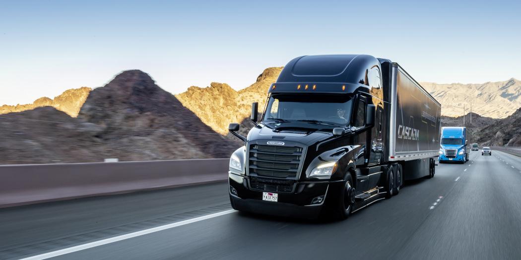 戴姆勒宣布斥资5.7亿美元研发自动驾驶卡车
