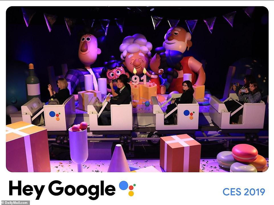 CES 2019:谷歌建迷你迪士尼展示强大谷歌助手
