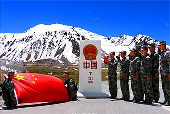 边防部队带你领略中国国境的美