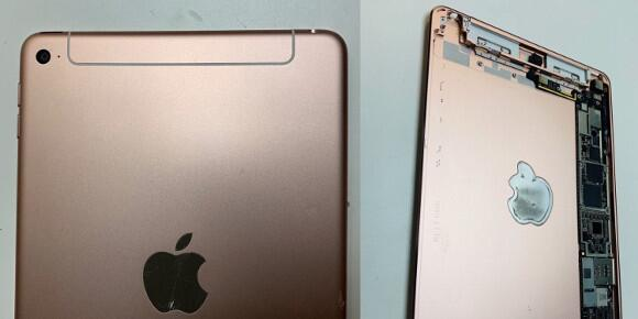 疑似iPad mini 5曝光 网友嘲讽其为iPad mini 4s