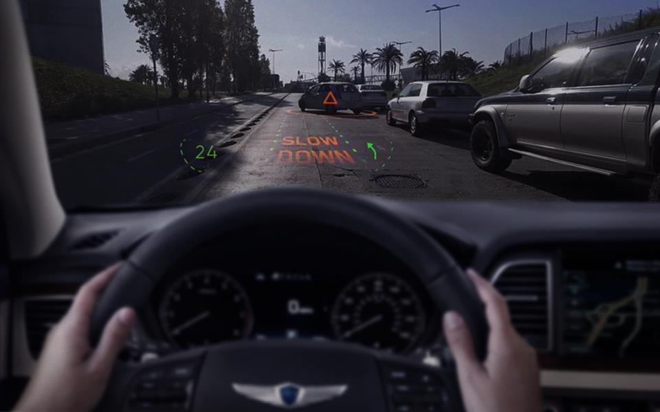 现代发布全息AR导航系统 2020年用于量产车