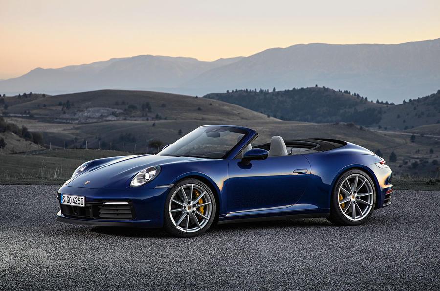 保时捷公布新款911 Cabriolet敞篷 英国起价合90万元