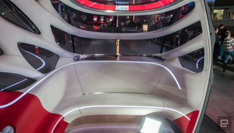 奔驰Vision Urbanetic概念车亮相 乘用与商用兼顾