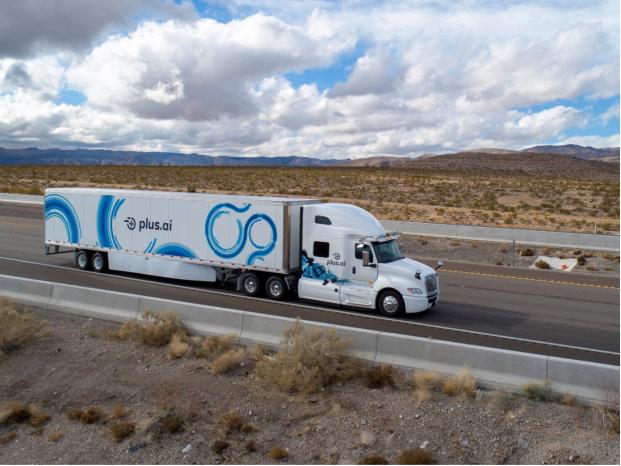 CES 2019:智加科技无人重卡现场演示L4级自动驾驶卡车技术