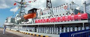 中国军舰访问柬埔寨,外媒疑心病又犯