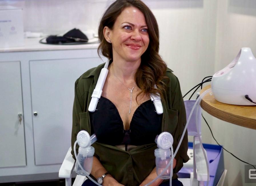 CES 2019:母婴科技大热 现场真人演示新型吸乳器
