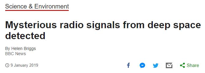 外星人问候?加拿大发现15亿光年外重复无线电波