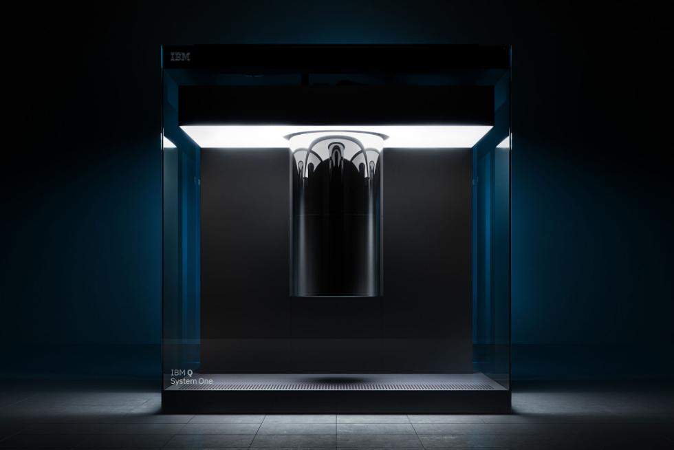 CES上IBM展示量子计算机原型:太高端就像艺术品