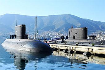 阿尔及利亚海军再接收两艘基洛级潜艇