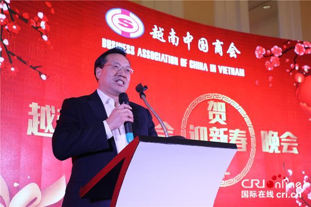 """越南中国商会举办2019年""""迎新春 贺新年""""联欢晚会"""