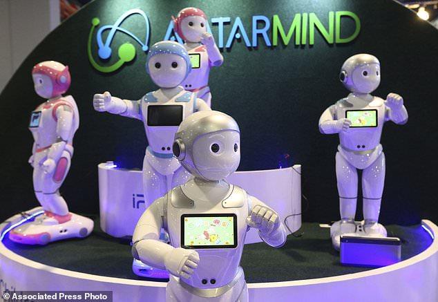 外媒盘点CES展会上的机器人 宛如机器人的盛会