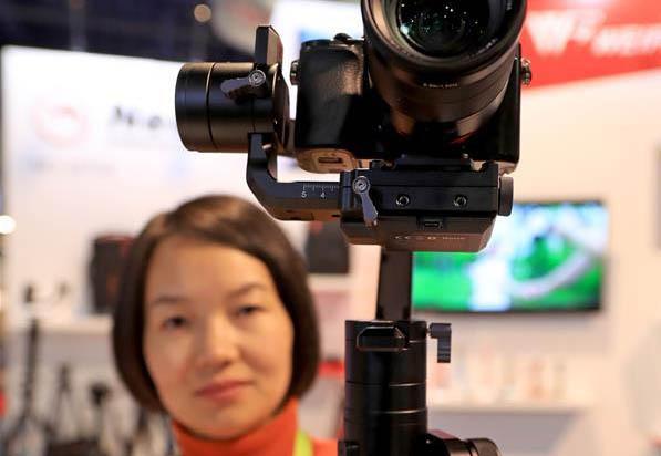 """拉斯维加斯消费电子展上的""""中国制造"""""""