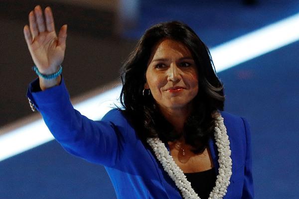 挑战特朗普!美民主党女议员决定竞选2020年美国总统