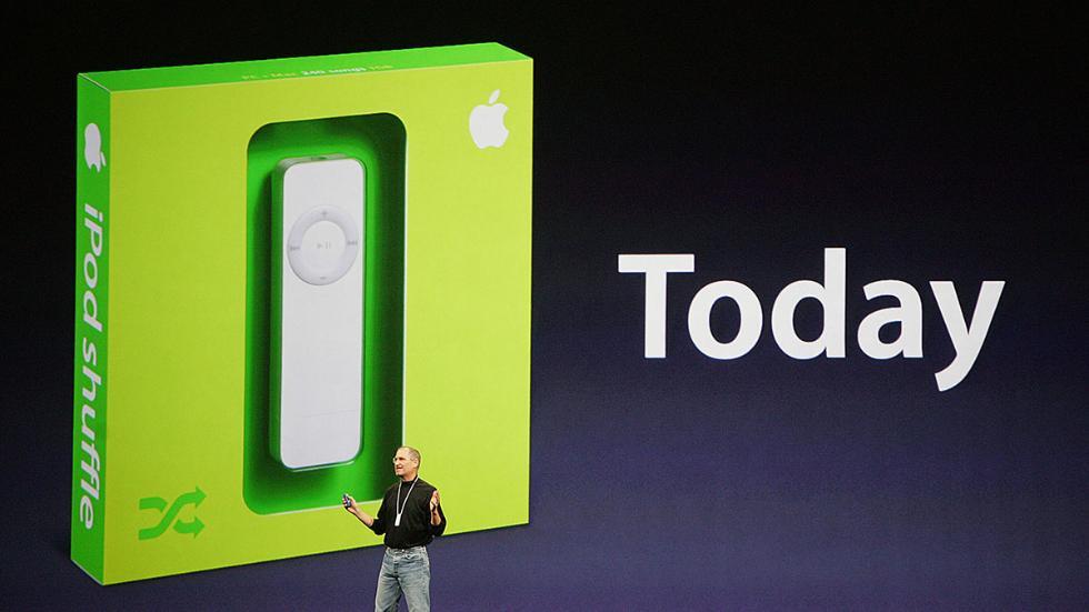 14年前iPod Shuffle诞生:随机播放成当年特点?