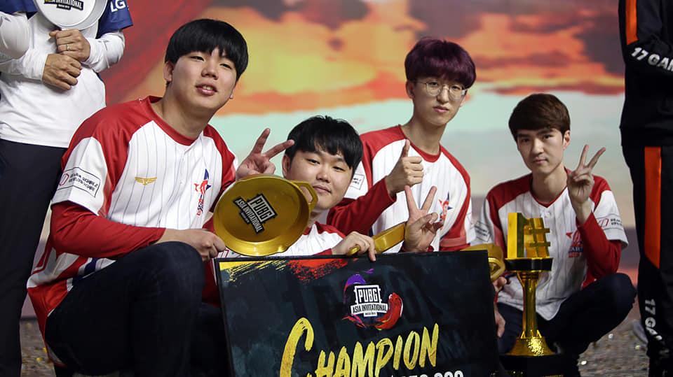 2019《绝地求生》亚洲邀请赛冠军出炉,韩国Actoz(亚拓士)荣誉夺冠!