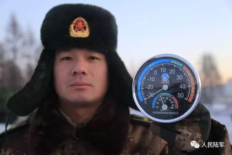 陆军冬训!温度差88,热度值100